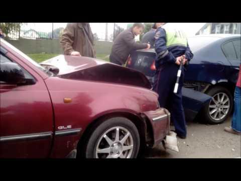 г Тамбов ДТП на бульваре Энтузиастов 20 09 16 г