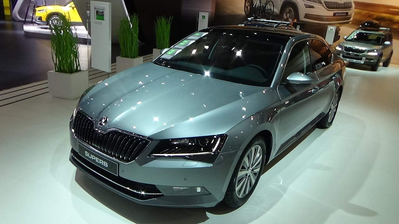 2017 skoda superb greenline auto show brussels 2017 youtube. Black Bedroom Furniture Sets. Home Design Ideas
