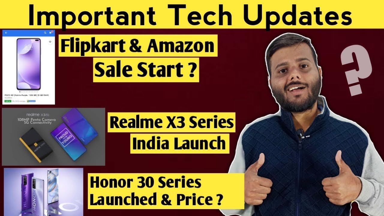 Flipkart Amazon Sale Start Realme X3 India Launch Price