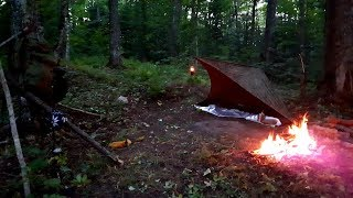 Solo Overnighter Tarp Shelter & More