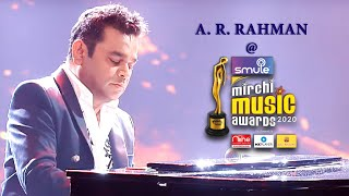 A.R. Rahman's soulful performance at the Smule Mirchi Music Awards 2020 I Jwalamukhi I 99 Songs