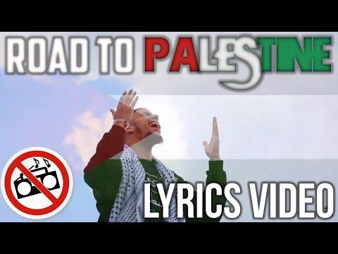 Khāled Siddīq - Road to Palestine | LYRICS VIDEO | Vocals Only (No Music)