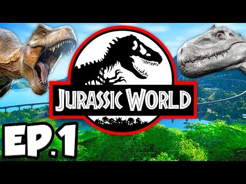 Jurassic World: Evolution Ep.1 - A NEW NOT-SO FALLEN KINGDOM OF DINOSAURS!!! (Gameplay / Let's Play)