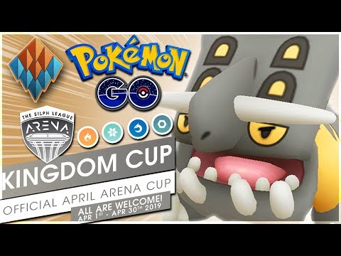 BASTIODON THE DEFENDER! KINGDOM CUP BATTLES! | Pokémon GO thumbnail