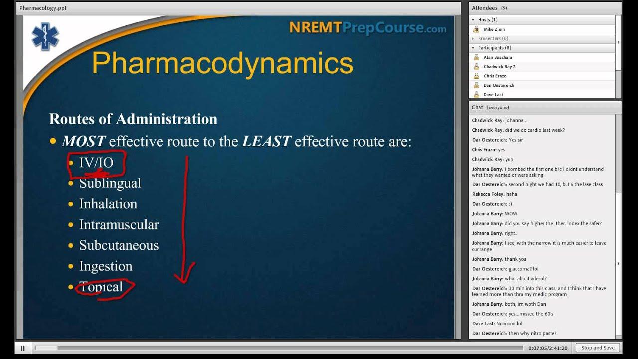 NREMT Prep Course - Sample Live Online Class - YouTube