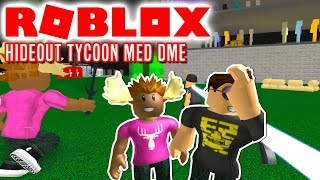 Cache! -ROBLOX Hideout Tycoon Danish with the Manly Moose