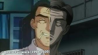 Initial D: Evolution of Bunta Fujiwara (1998-2020)