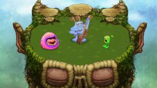 trio bowgart furcorn and maw plant island