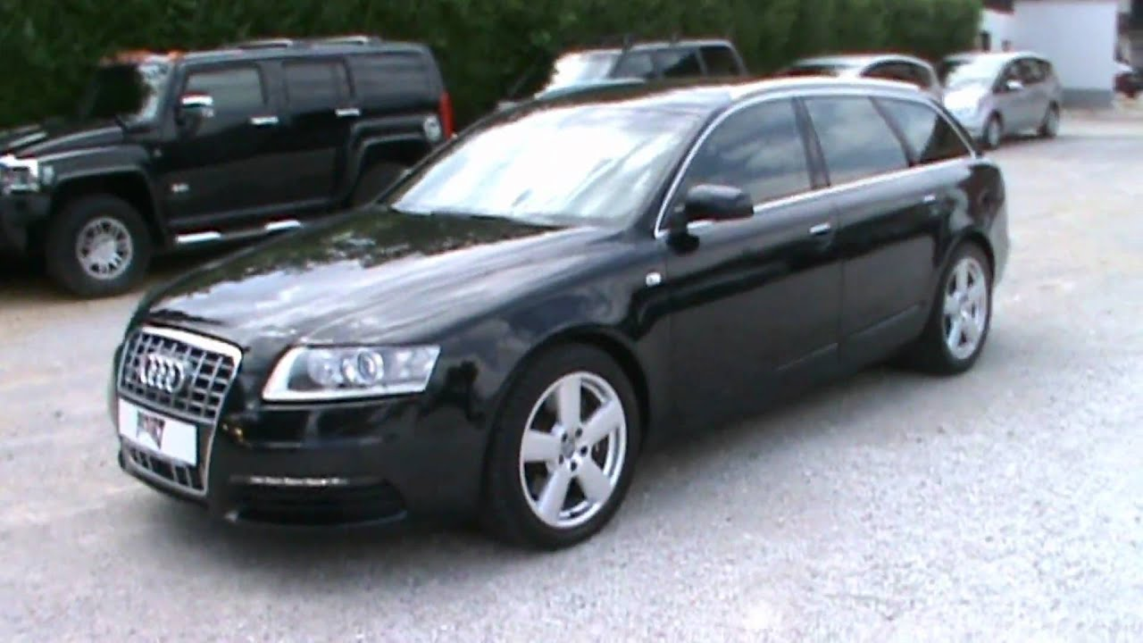 2008 Audi A6 27 V6 Tdi Multitronic Avant Full Review,start Up, Engine, And  In Depth Tour  Youtube