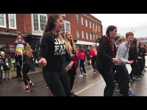 Jam Flashmob - Santa Fun Run 2017