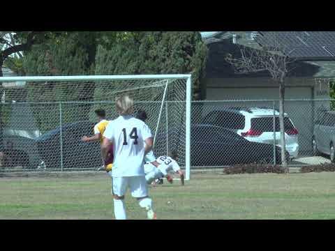 El Modena Vanguards Soccer Gets First Goal vs Canyon Comanches McPherson Magnet School 2021