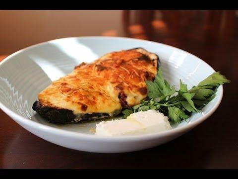 Melitzanes Papoutsakia: Stuffed Eggplants/Dimitras dishes episode 15 ...