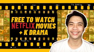 FREE TO WATCH NETFLIX MOVIES + Kdrama FOR ANDROID AND iOS USERS