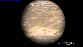 Operation Flashpoint Red River - killing enemies at 1 km!!