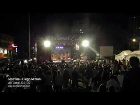 Josefina (vivo Villa Gesell 2011) - Diego Mizrahi