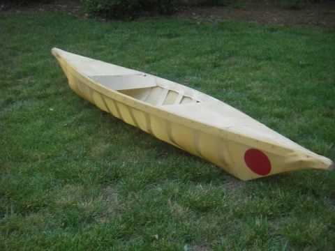 Homemade Kayak - YouTube