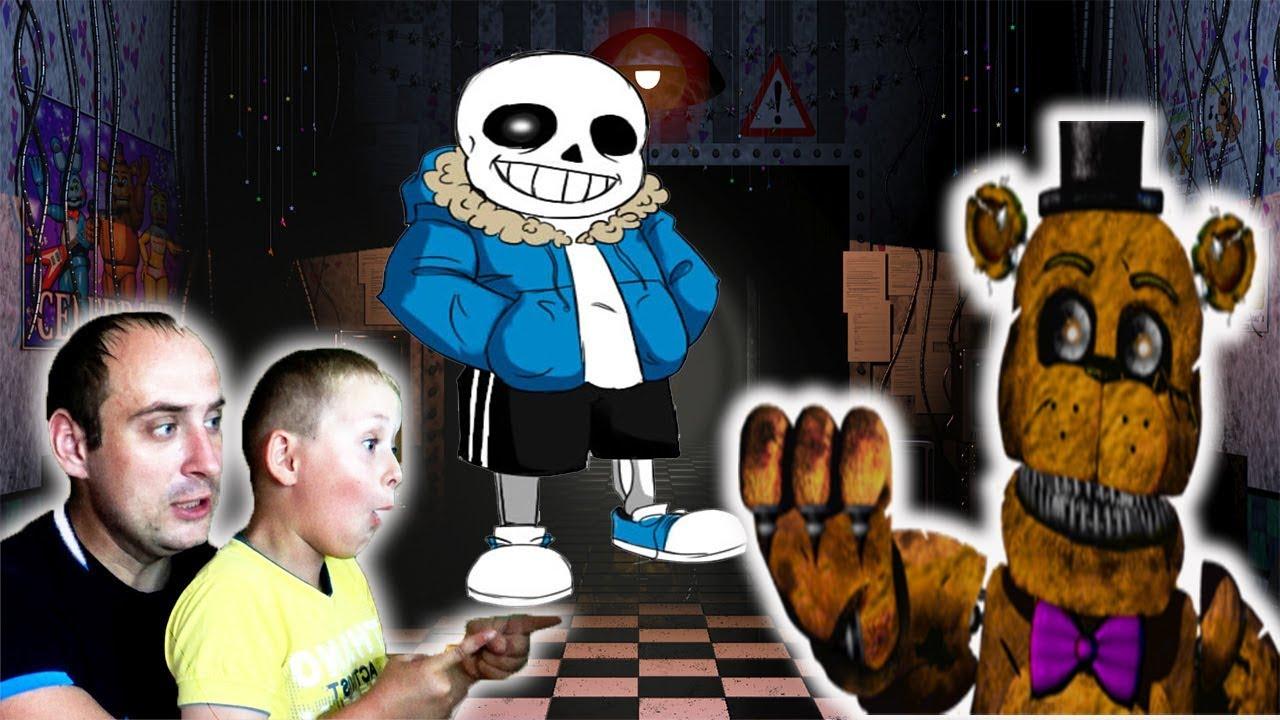 Игра «Майнкрафт: 5 ночей с Фредди»