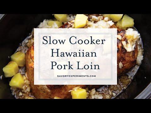Slow Cooker Hawaiian Pork Loin
