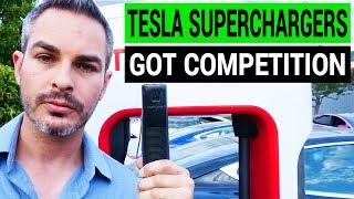 Tesla Superchargers Got Competition