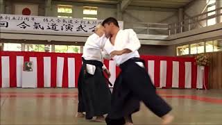 Aikido   Endo Seishiro Shihan   30th Saku Dojo Demonstration 2018