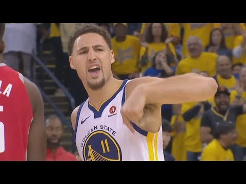 Klay Thompson 9 3s 35 Points Forces Game 7! 2018 NBA Playoffs