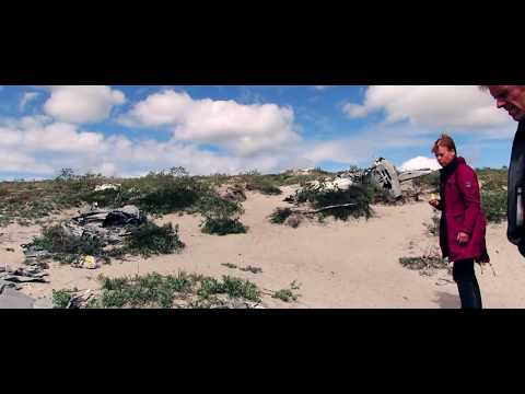 Travel Greenland -  Beautiful ice bergs & remains of a plane crash - Episode 2 - with subtitle