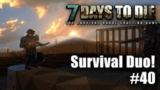7 Days to Die - Survival Duo ☠ - Battery! - Let's Play #40 - Gameplay - Deutsch thumbnail