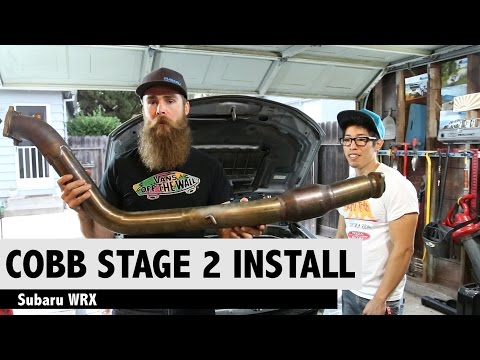COBB STAGE 2 HOW TO INSTALL