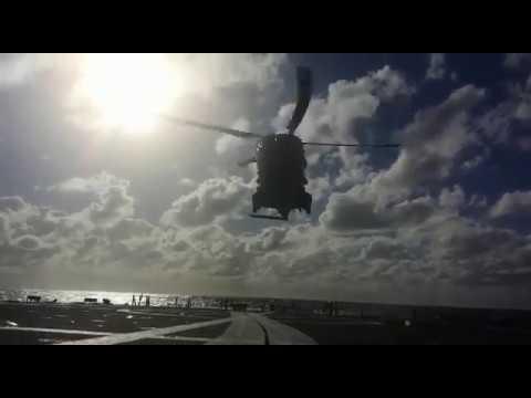 Frigate Cristobal Colon, Fleet Air Arm MRH-90
