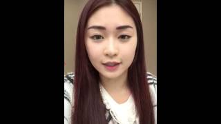 Model Ayu Korean 3D Micro-blading Eyebrow After