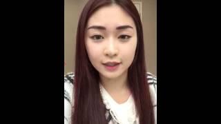 Model Ayu Wong 王梓如韓式3D立體繡眉後即時