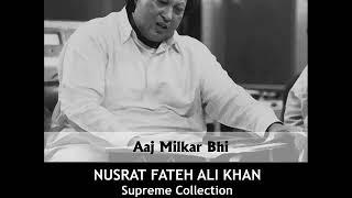 Aaj Milkar Bhi   Nusrat Fateh Ali Khan Songs   Songs Ghazhals And Qawwalis   YouTube