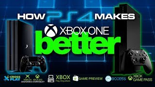 How PS4 makes Xbox One BETTER - Competition breeds Innovation - Colteastwood 4K60