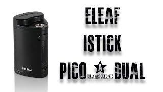 Обзор Eleaf IStick Pico Dual 200w