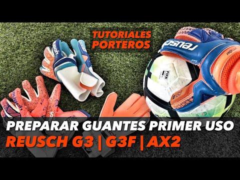PRIMER USO REUSCH G3 FUSION, G3 Y AX2 | TUTORIALES PORTEROS |