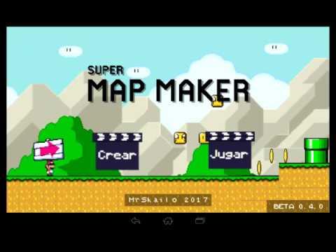 SUPER MAP MAKER (Mario maker para android)