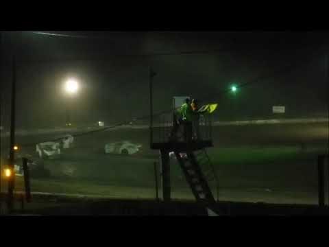 1. Steve Andersen 2. Gary Miller 3. Tyler Ward 4. Bobby Flood 5. Allan Hodge. - dirt track racing video image