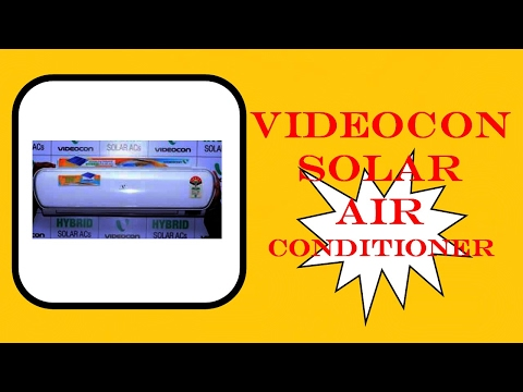 [ Hindi ] India's First Videocon Solar Air Conditioner New Updated News & Information 2017 – By TIIH