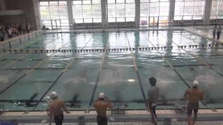 久野正裕 男子50m自由形 第6回関東学生ウィンターカップ
