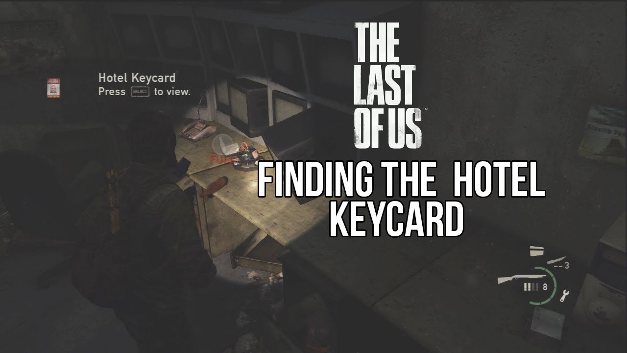 The Last Of Us Finding The Hotel Key Card And Generator YouTube - Us map generator