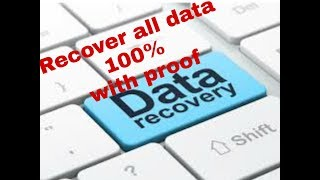 TECH PLUS how to recover lost photo,data or formated data