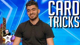 TOP Card Magician Does Close-Up Magic on Asia's Got Talent | Magician's Got Talent
