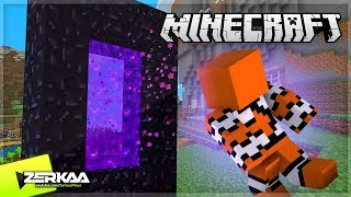 We Made A Nether Portal And Visited The Nether! (Minecraft #18)
