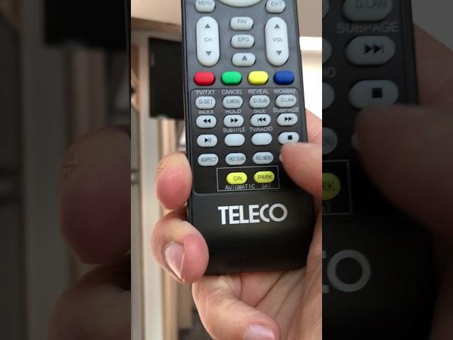 Fernseher und Satanlage im Sunlight T68