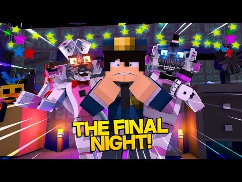 Minecraft Fnaf: Sister Location – The Security Guards Final Night (Minecraft Roleplay)