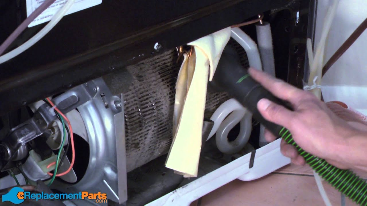 How to Clean the Condenser Coil on a Refrigerator  YouTube