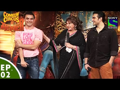 Make Comedy Circus Ke Mahabali - Episode 2 - Sohail, Arbaaz And Helen In Comedy Circus Pictures