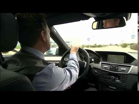 Driving new Mercedes-Benz E-Class 2010