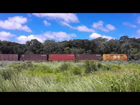 Tren en Bolivia