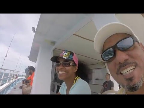 Fishing On The Sailors Choice Party Boat-Key Largo